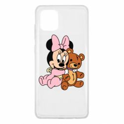 Чохол для Samsung Note 10 Lite Baby minnie and bear