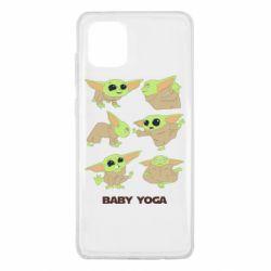 Чехол для Samsung Note 10 Lite Baby Yoga