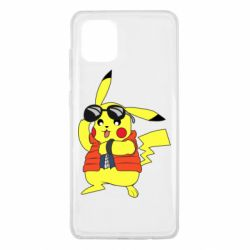 Чохол для Samsung Note 10 Lite Back to the Future Marty McFly Pikachu