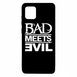 Чехол для Samsung Note 10 Lite Bad Meets Evil