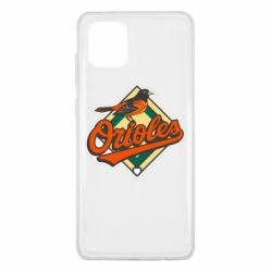Чохол для Samsung Note 10 Lite Baltimore Orioles