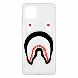 Чехол для Samsung Note 10 Lite Bape shark logo
