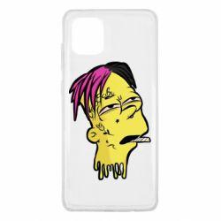 Чехол для Samsung Note 10 Lite Bart as Lil Peep