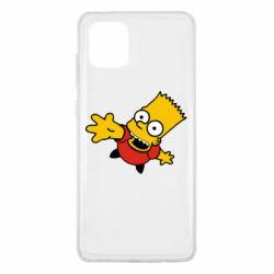 Чехол для Samsung Note 10 Lite Барт Симпсон