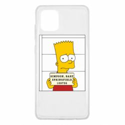 Чехол для Samsung Note 10 Lite Барт в тюряге