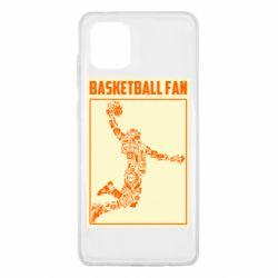Чохол для Samsung Note 10 Lite Basketball fan