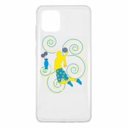 Чохол для Samsung Note 10 Lite Basketball player and flowers