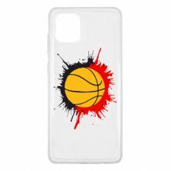 Чохол для Samsung Note 10 Lite Баскетбольний м'яч