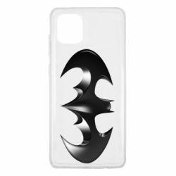 "Чехол для Samsung Note 10 Lite Batman ""3d Logo"""