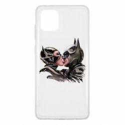Чехол для Samsung Note 10 Lite Batman and Catwoman Kiss