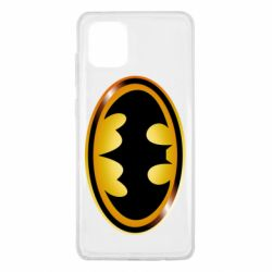 Чохол для Samsung Note 10 Lite Batman logo Gold