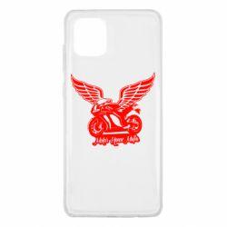 Чехол для Samsung Note 10 Lite Байк с крыльями
