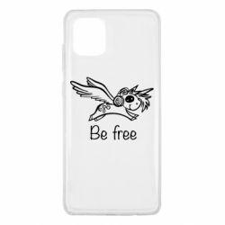 Чохол для Samsung Note 10 Lite Be free unicorn