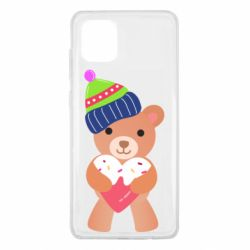 Чехол для Samsung Note 10 Lite Bear and gingerbread