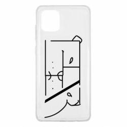 Чехол для Samsung Note 10 Lite Bear stripes