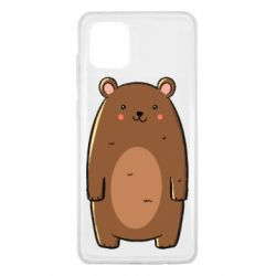 Чехол для Samsung Note 10 Lite Bear with a smile