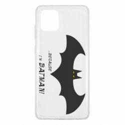 Чохол для Samsung Note 10 Lite Because i'm batman