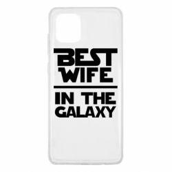 Чехол для Samsung Note 10 Lite Best wife in the Galaxy