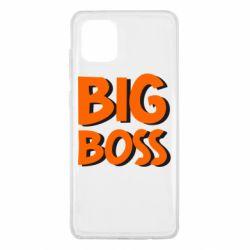 Чехол для Samsung Note 10 Lite Big Boss