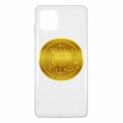 Чохол для Samsung Note 10 Lite Bitcoin coin