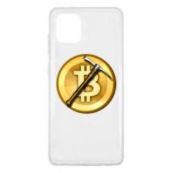 Чохол для Samsung Note 10 Lite Bitcoin Hammer