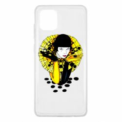 Чехол для Samsung Note 10 Lite Black and yellow clown