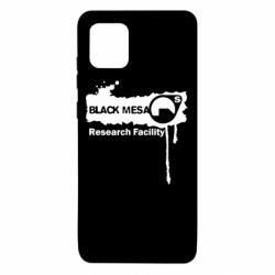 Чехол для Samsung Note 10 Lite Black Mesa