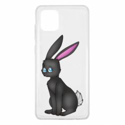 Чохол для Samsung Note 10 Lite Black Rabbit