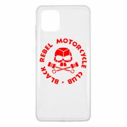 Чехол для Samsung Note 10 Lite Black Rebel Motorcycle Club