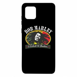 Чехол для Samsung Note 10 Lite Bob Marley A Tribute To Freedom