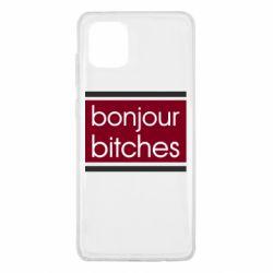 Чехол для Samsung Note 10 Lite Bonjour bitches
