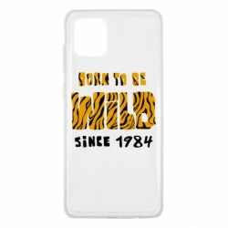 Чохол для Samsung Note 10 Lite Born to be wild sinse 1984