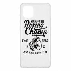 Чохол для Samsung Note 10 Lite Boxing Champ