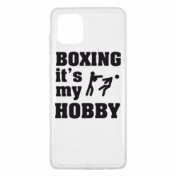 Чохол для Samsung Note 10 Lite Boxing is my hobby