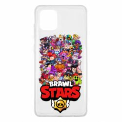 Чехол для Samsung Note 10 Lite Brawl Stars all characters art
