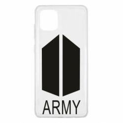 Чохол для Samsung Note 10 Lite Bts army