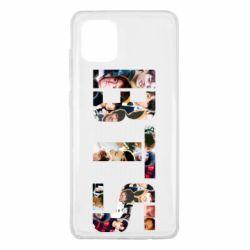 Чехол для Samsung Note 10 Lite BTS collage