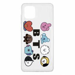 Чохол для Samsung Note 10 Lite Bts emoji