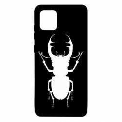 Чехол для Samsung Note 10 Lite Bugs silhouette