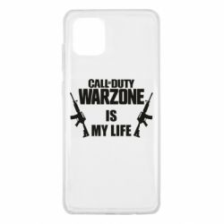 Чехол для Samsung Note 10 Lite Call of duty warzone is my life M4A1