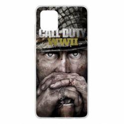 Чехол для Samsung Note 10 Lite Call of Duty WWII