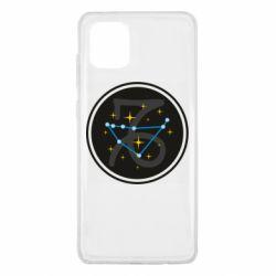 Чехол для Samsung Note 10 Lite Capricorn constellation