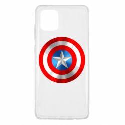 Чехол для Samsung Note 10 Lite Captain America 3D Shield