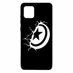 Чохол для Samsung Note 10 Lite Captain America shield