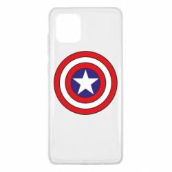 Чехол для Samsung Note 10 Lite Captain America