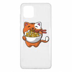 Чохол для Samsung Note 10 Lite Cat and Ramen