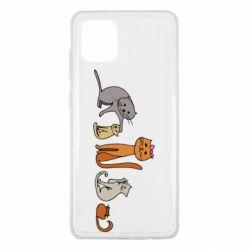 Чехол для Samsung Note 10 Lite Cat family