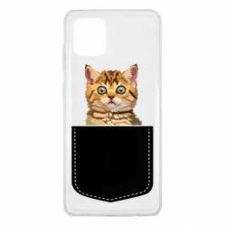 Чехол для Samsung Note 10 Lite Cat in your pocket