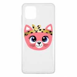 Чехол для Samsung Note 10 Lite Cat pink