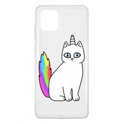 Чехол для Samsung Note 10 Lite Cat Unicorn